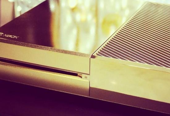Xbox One is er ook in 24 karaats goud