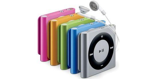 4e generatie iPod shuffle