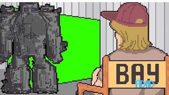 8-bit retrovideo doet je terugverlangen naar vroeger