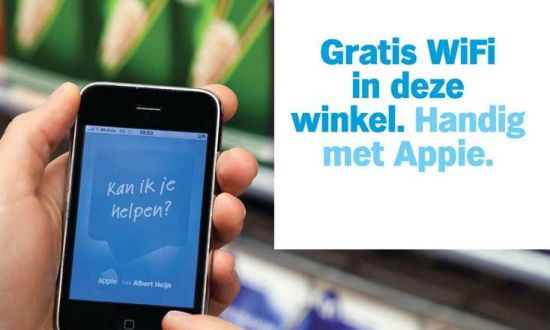 Albert Heijn gratis WiFi