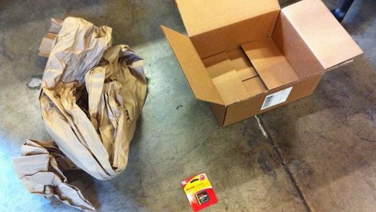 Inpakken bij Amazon