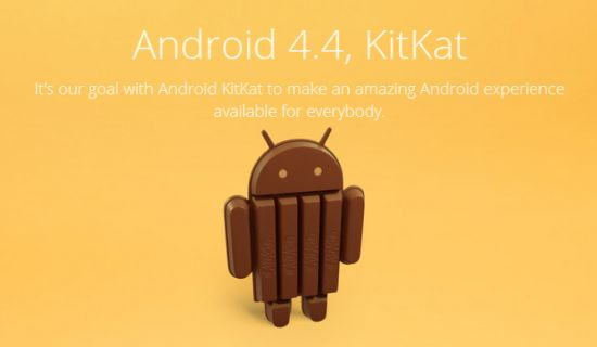 Android 4.4 KitKat for everybody