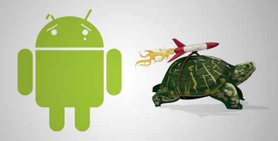 Android traag