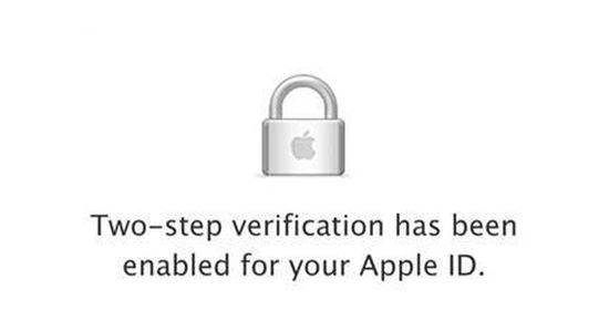 Apple ID two-step authentication