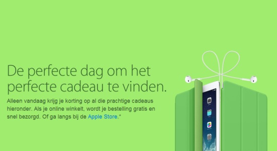 Apple Nederland Black Friday-aanbiedingen