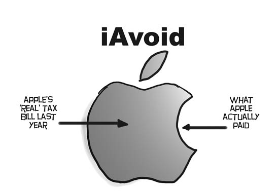 Apple iAvoid paying taxes