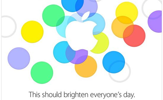 Apple iPhone event 10 september
