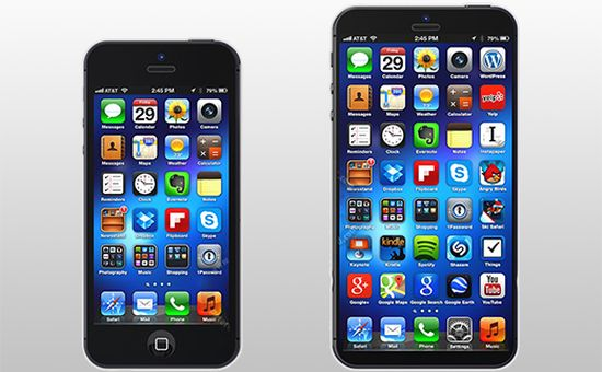 Apple iPhone phablet