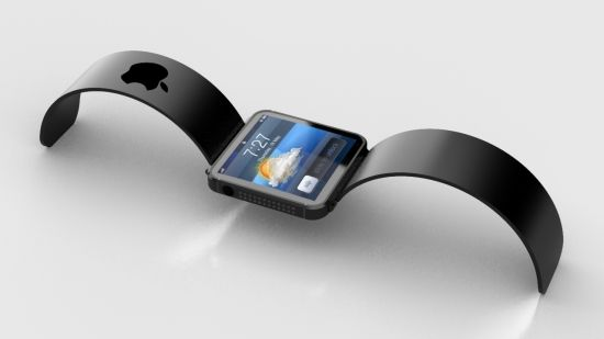 Apple iWatch rendering