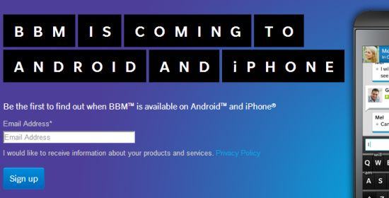 BBM op Android & iOS