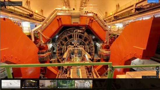 CERN Street View