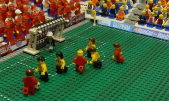 Champions League finale in LEGO