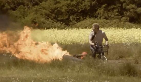 Colin Furze unsafe bike