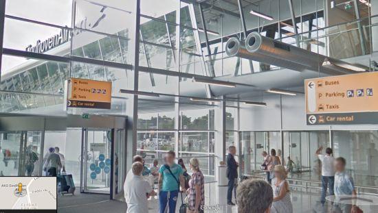 Eindhoven Airport Google Street View