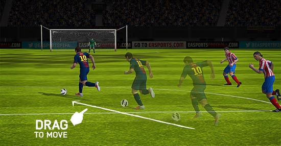 FIFA 14 op iOS en Android free-to-play