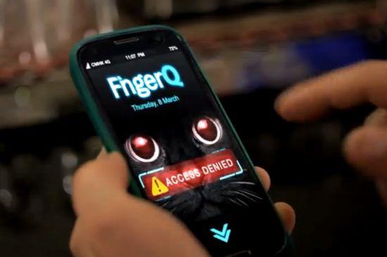 FingerQ vingerafdrukbeveiliging