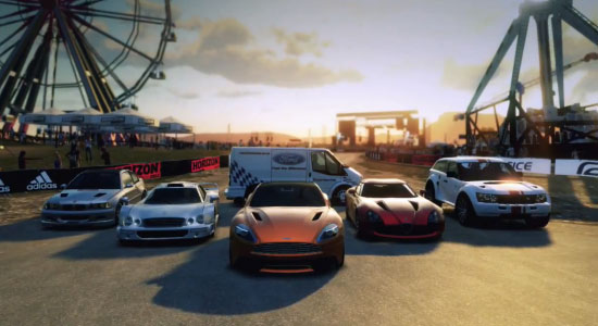 Forza Horizon nu met Top Gear six-pack