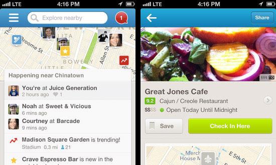 Foursquare V6.0