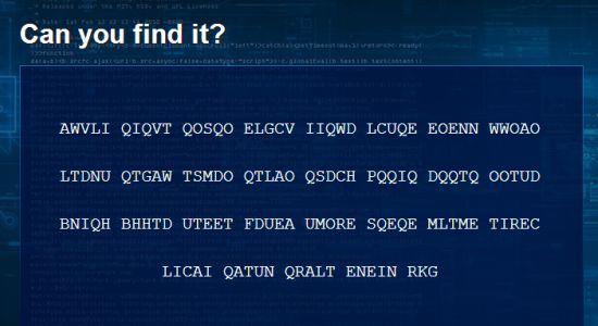 GCHQ Can You Find It?