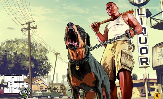 GTA V: Franklin & Chop