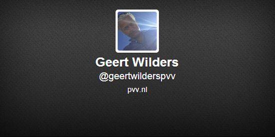 Geert Wilders Twitter