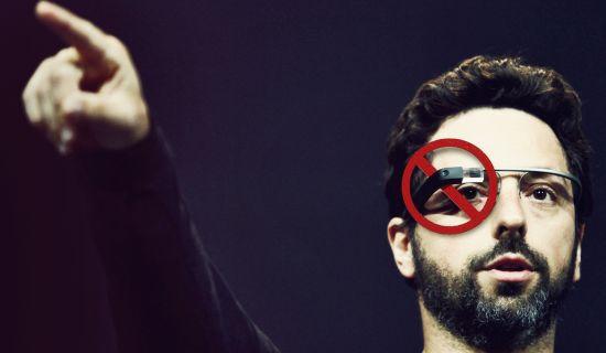 Google Glass verboden