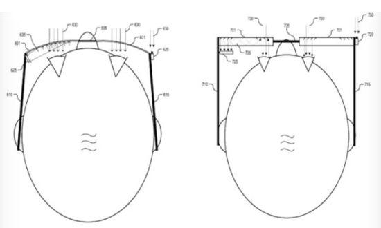Google pay per gaze patent