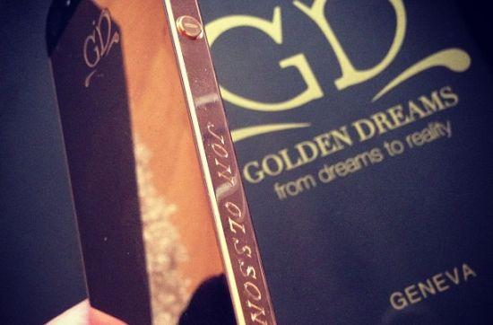 Gouden iPhone Jon Olsson