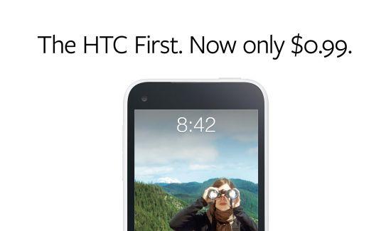 HTC First $0.99