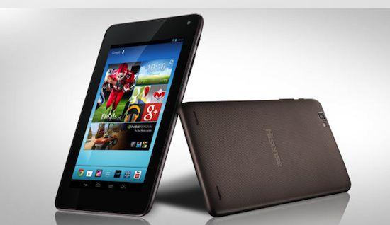 7-inch tablet van Hisense kost €77
