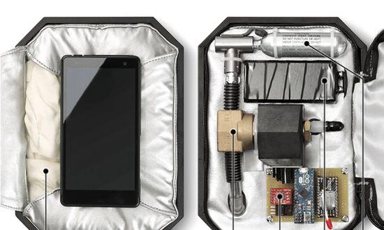Honda smarthone airbag case