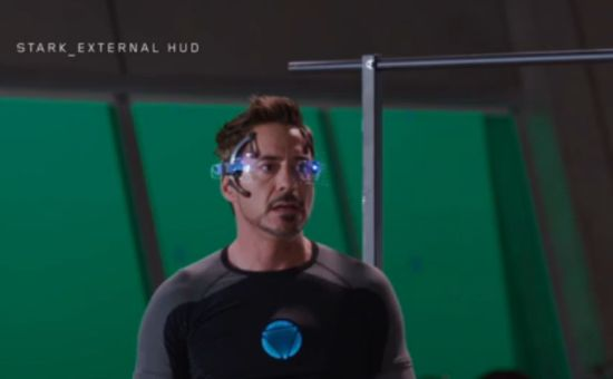 Iron Man 3 HUD design