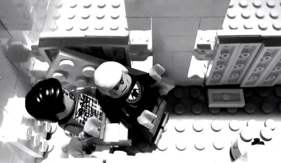 James Bond Casino Royale intro met LEGO