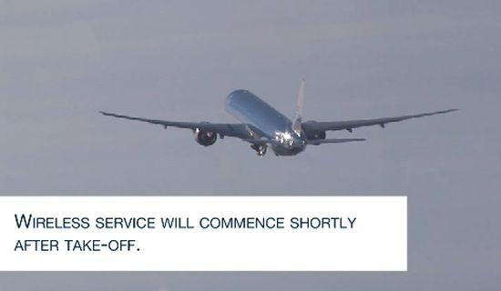 KLM Boeing 777-300 met WiFi