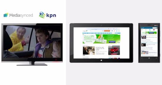 KPN simultane reclame