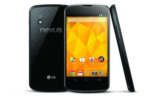 LG Nexus 4 leverbaar in Nederland