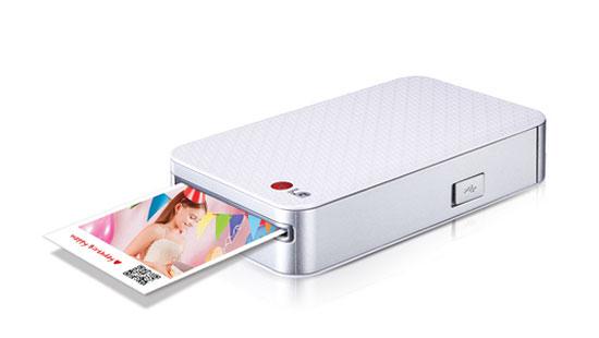 LG toont mini-fotoprinter voor smartphones