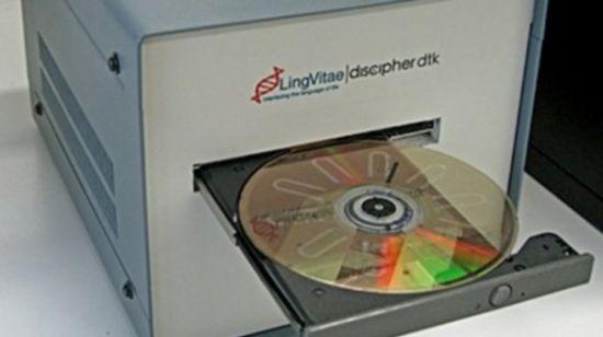 Lab-on-DVD HIV test