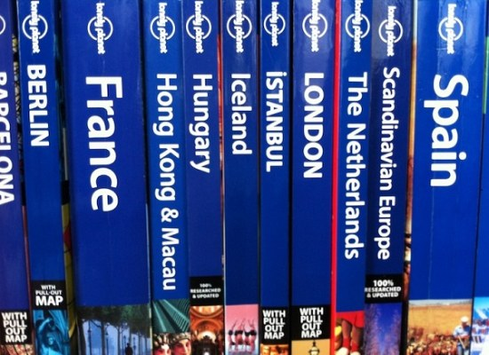 Lonely Planet boeken