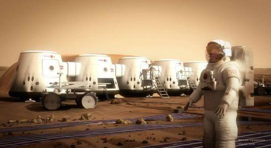 Mars One selectie
