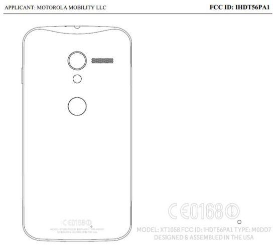 Motorola XT1058 X Phone