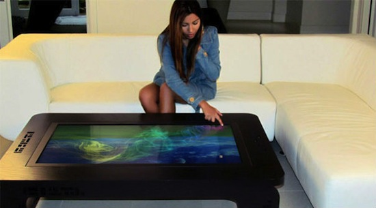 Mozayo Interactive MultiTouch Table
