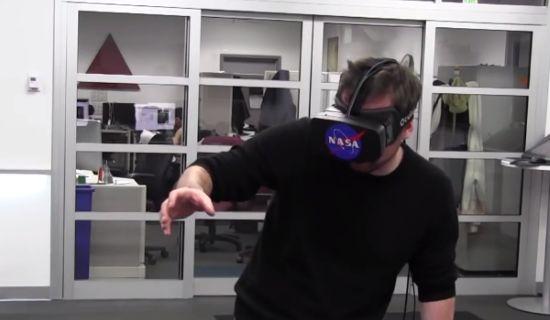 NASA gebruikt Kinect en Oculus Rift
