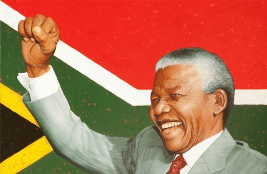 Nelson Mandela herdenking