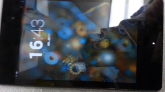 Nexus 7 2.0 gelekt in video
