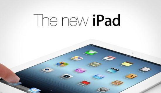 Nieuwe iPad