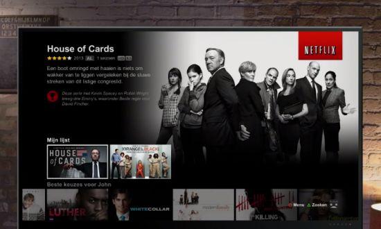 Nieuwe televisiebeleving Netflix