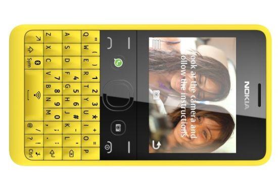 Nokia Asha 210 met WhatsApp