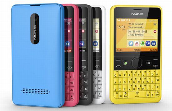 Nokia Asha 210 - Kleuren