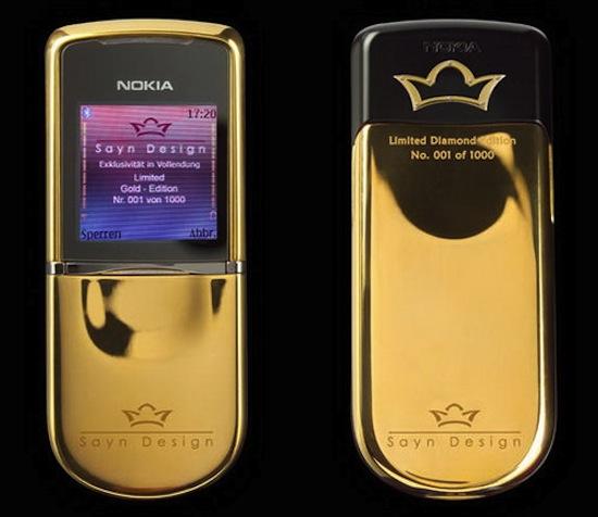 Gouden Nokia 8800